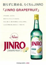 JINROグレープフルーツ16度700ml×12本
